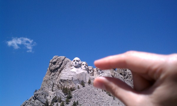 Pinched heads, Rushmore